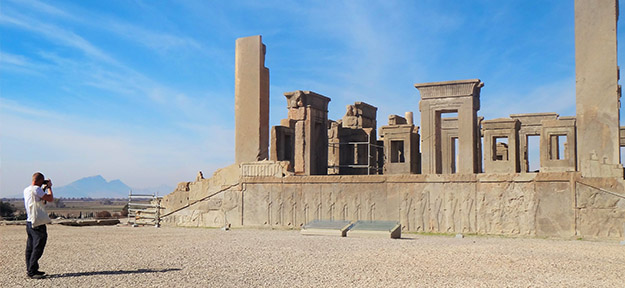 Iran Persepolis with Social Cycles